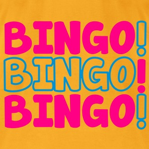 BINGO! BINGO! BINGO! party shirt Bags  - Men's T-Shirt by American Apparel
