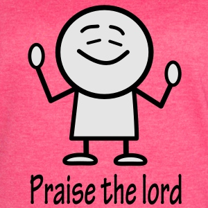 praise the lord Tanks - Women's Vintage Sport T-Shirt