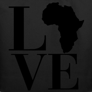 Love Africa Women's T-Shirts - Eco-Friendly Cotton Tote
