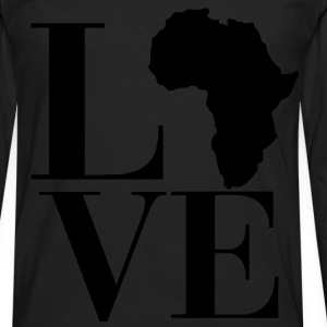 Love Africa Women's T-Shirts - Men's Premium Long Sleeve T-Shirt