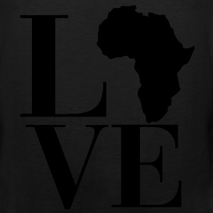 Love Africa Women's T-Shirts - Men's Premium Tank