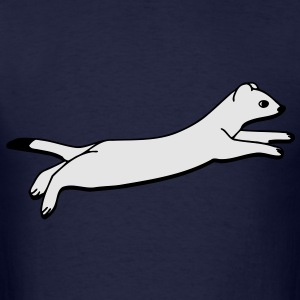 Ermine jumps Long Sleeve Shirts - Men's T-Shirt