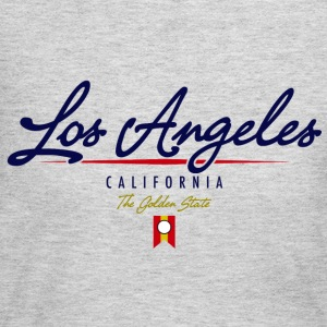 Los Angeles Script American Apparel T-Shirt - Women's Long Sleeve Jersey T-Shirt
