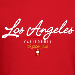 Los Angeles Script American Apparel T-Shirt - Crewneck Sweatshirt