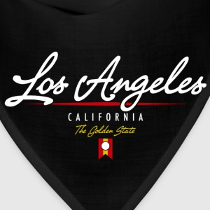 Los Angeles Script American Apparel T-Shirt - Bandana