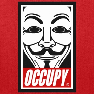 Occupy Anonymous Mask Hoodies - Tote Bag