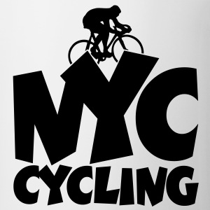 NYC cycling t-shirt - Coffee/Tea Mug