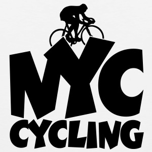 NYC cycling t-shirt - Men's Premium Tank