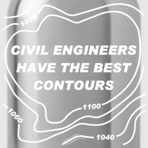 Best Contours T-Shirts - Water Bottle