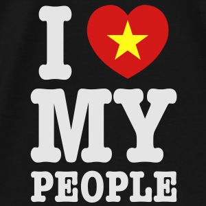 I Heart (Love) My Viet People Baby & Toddler Shirt - Men's Premium T-Shirt