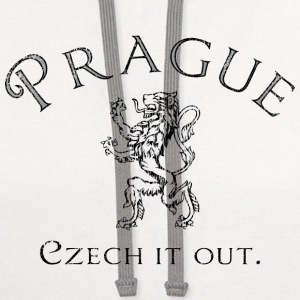 Prague - Czech it out. - Contrast Hoodie
