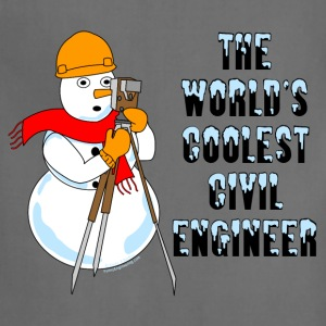 Coolest Civil Engineer T-Shirts - Adjustable Apron