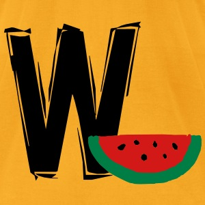 w_watermelon3 Bags  - Men's T-Shirt by American Apparel