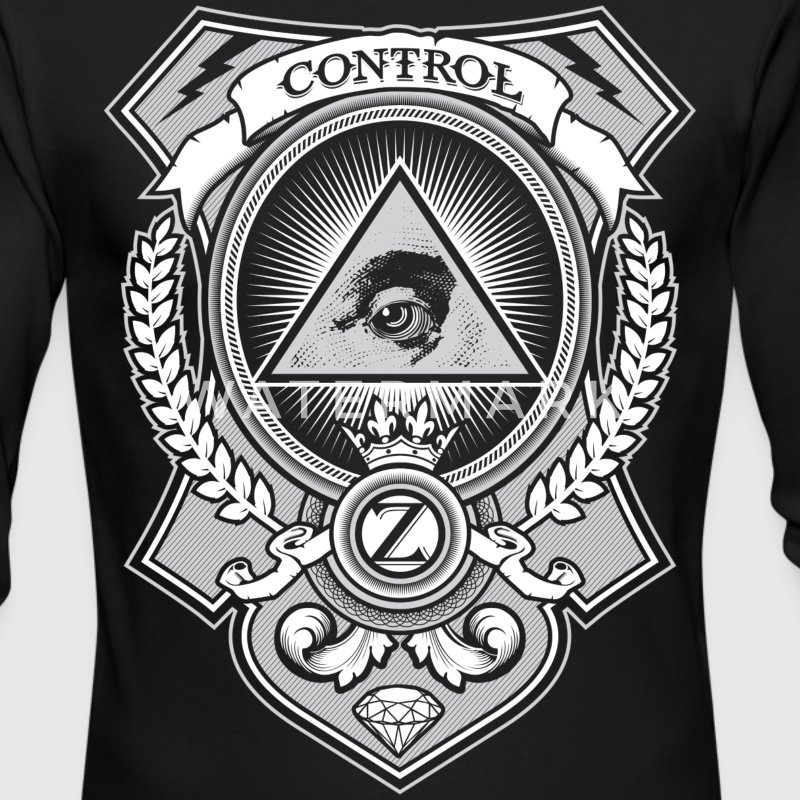 Money Shirt Design by Ctrl+Z Clothing Long Sleeve Shirts - Men's Long Sleeve T-Shirt by Next Level