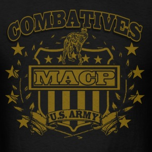 Combatives Shield Faded Look Hoodies - Men's T-Shirt