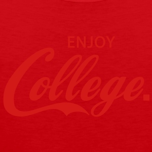 ENJOY College Women's T-Shirt - Men's Premium Tank