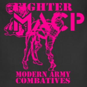MACP Fighter Back Pink Design Hoodies - Adjustable Apron