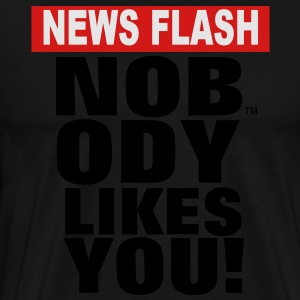 NEWS FLASH Hoodies - Men's Premium T-Shirt