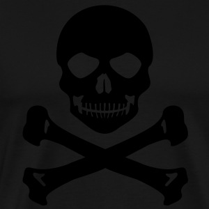 Pirate skull Long Sleeve Shirts - Men's Premium T-Shirt