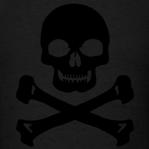pirate skull t shirts spreadshirt. Black Bedroom Furniture Sets. Home Design Ideas