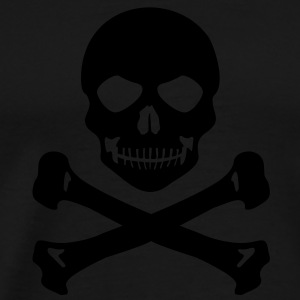 Pirate skull Tanks - Men's Premium T-Shirt