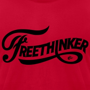 Free Thinker Vintage - Men's T-Shirt by American Apparel