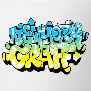 LAWE/SUB53 Design for New York Graffiti Color Logo - Coffee/Tea Mug