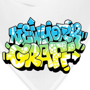 LAWE/SUB53 Design for New York Graffiti Color Logo - Bandana