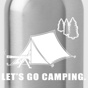 Let's Go Camping - Water Bottle
