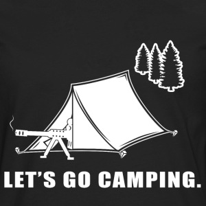 Let's Go Camping - Men's Premium Long Sleeve T-Shirt