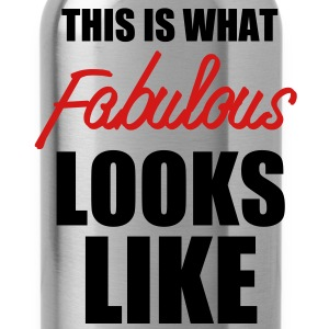 what_fabulous_looks_like - Water Bottle