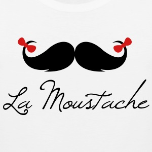 la_moustache_bow - Men's Premium Tank