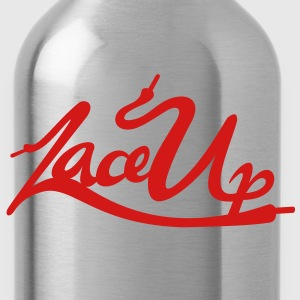 Lace Up Vector Hoodies - Water Bottle
