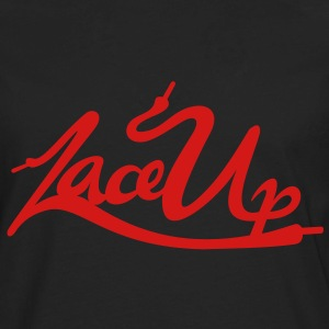 Lace Up Vector Hoodies - Men's Premium Long Sleeve T-Shirt