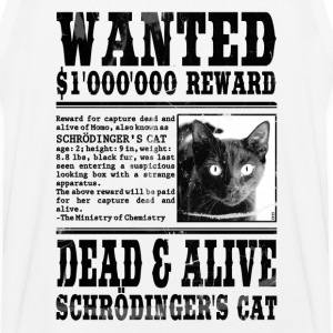 Schrödinger's Cat Wanted, Dead and Alive Hoodies - Men's Premium Tank