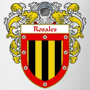 Rosales Coat of Arms/Family Crest - Coffee/Tea Mug