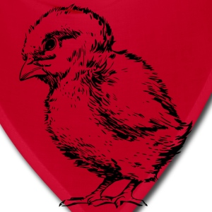 Chick Outlined - Bandana