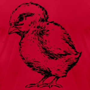 Chick Outlined - Men's T-Shirt by American Apparel
