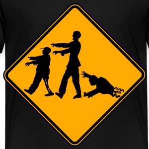 Zombie X-ing Kids' Shirts - Toddler Premium T-Shirt