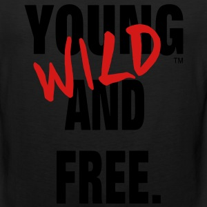 YOUNG WILD AND FREE T-Shirts - Men's Premium Tank