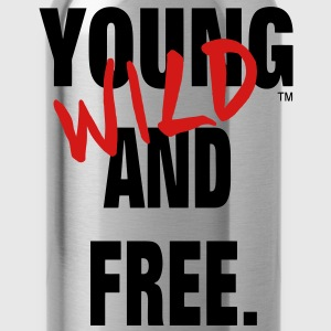 YOUNG WILD AND FREE Hoodies - Water Bottle