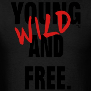 YOUNG WILD AND FREE Hoodies - Men's T-Shirt