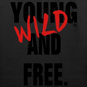 YOUNG WILD AND FREE Hoodies - Eco-Friendly Cotton Tote
