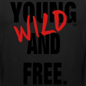 YOUNG WILD AND FREE Hoodies - Men's Premium Tank