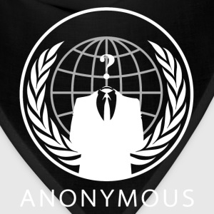 Anonymous 1 White - Bandana