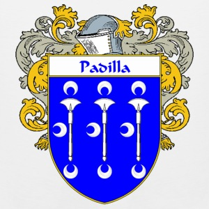 Padilla Coat of Arms/Family Crest - Men's Premium Tank