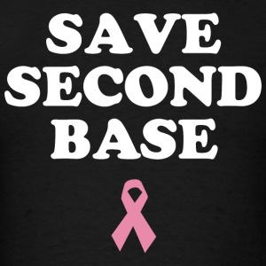 Save Second Base Hoodies - Men's T-Shirt