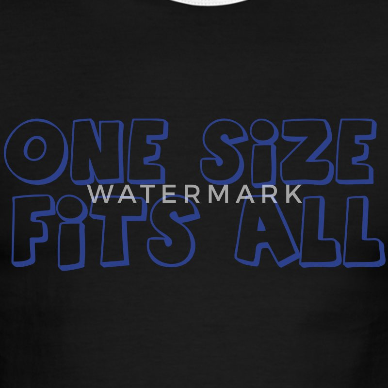 one size fits all T-Shirts - Men's Ringer T-Shirt