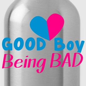 GOOD BOY being BAD!  T-Shirts - Water Bottle