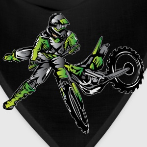 Kawasaki Freestyle Dirt Bike T-Shirts - Bandana